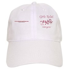 girls rule mug Baseball Cap
