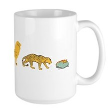 evolution sucks wh Mug