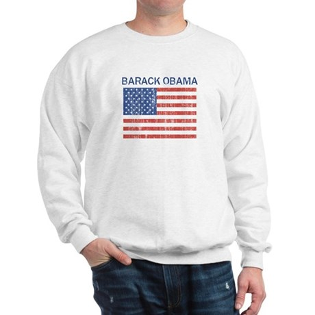 BARACK OBAMA (Vintage flag) Sweatshirt