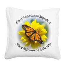 9x7.5_mpad monarch 315 Square Canvas Pillow