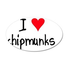 iheartchipmunks Wall Decal