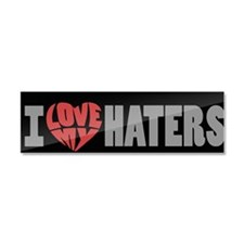 love-haters-2 Car Magnet 10 x 3