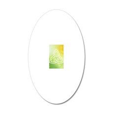 ipod4irish 20x12 Oval Wall Decal