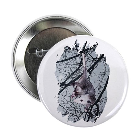 "Moonlight Possum 2.25"" Button (10 pack)"