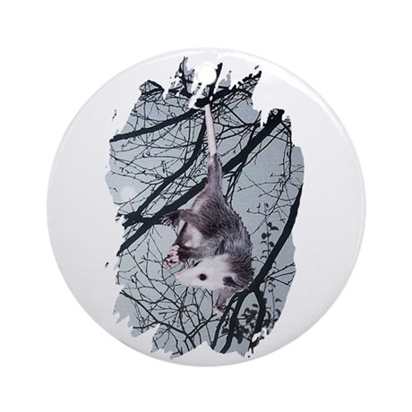 Moonlight Possum Ornament (Round)