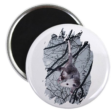 "Moonlight Possum 2.25"" Magnet (100 pack)"