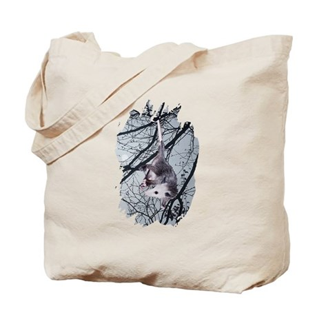 Moonlight Possum Tote Bag