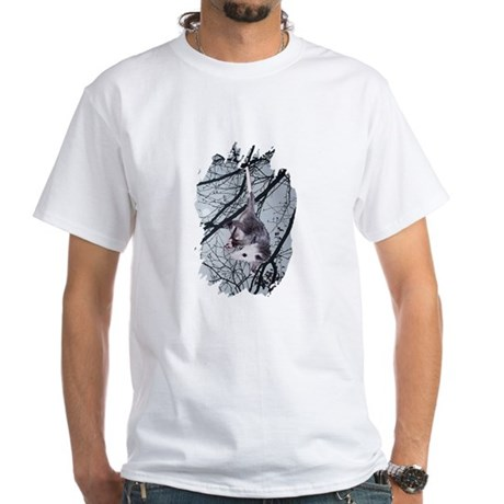 Moonlight Possum White T-Shirt