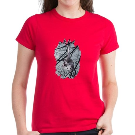Moonlight Possum Women's Dark T-Shirt
