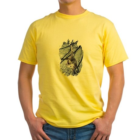 Moonlight Possum Yellow T-Shirt