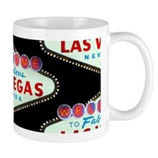 Black Las Vegas Sign 11oz Mug