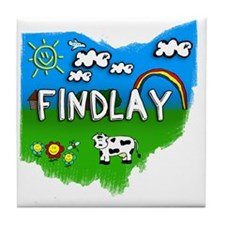 Findlay Tile Coaster