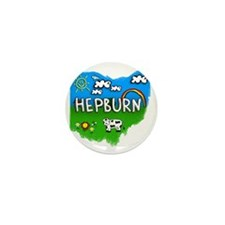 Hepburn Mini Button