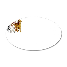 dogsagainstromneywh 35x21 Oval Wall Decal