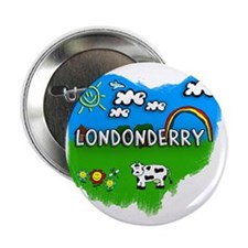 "Londonderry 2.25"" Button"