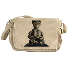 Monkey Scholar Messenger Bag