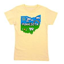 Minnesota Girl's Tee