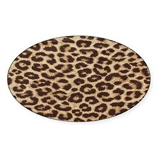 leopardBEACHBAGTEMPLATE Decal