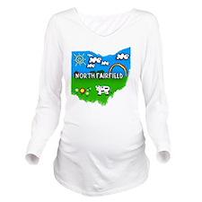 North Fairfield Long Sleeve Maternity T-Shirt