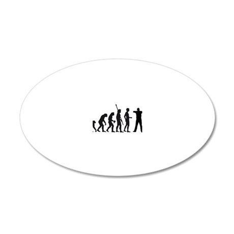 Evolution BogenschieÃ?en 20x12 Oval Wall Decal