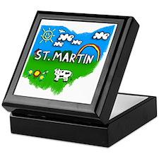 St. Martin Keepsake Box