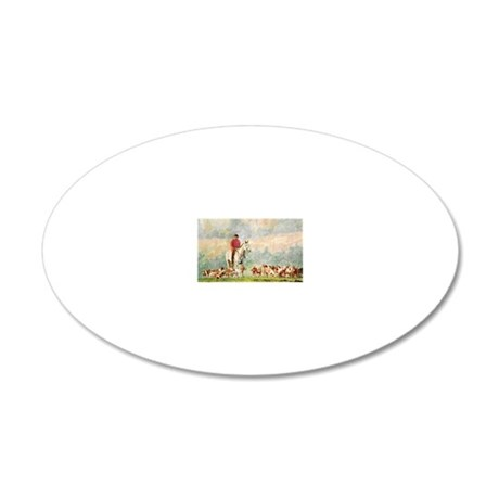 fhnote 20x12 Oval Wall Decal