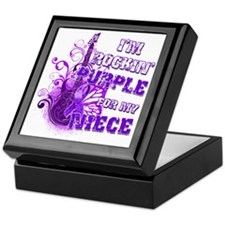 Im Rockin Purple for my Niece Keepsake Box