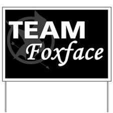 Foxface Magnet Yard Sign