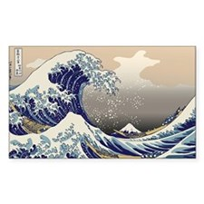 Hokusai_Great_WavePillow Decal