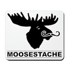 moosestache2 Mousepad