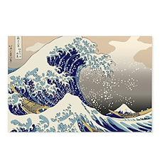 Hokusai_Great_WaveKing1 Postcards (Package of 8)