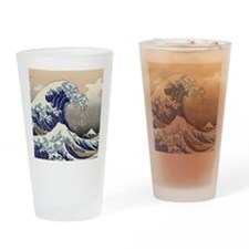 Hokusai_Great_WaveKing1 Drinking Glass