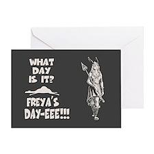 Freya's Day Greeting Card