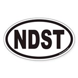 NDST Euro Oval Decal