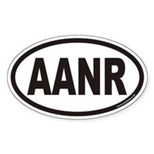 AANR Euro Oval Decal