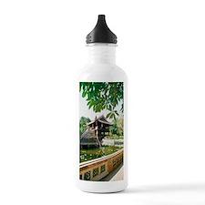 One Pillar Pagoda near Water Bottle