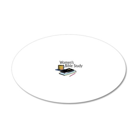 Womens Bible Study 20x12 Oval Wall Decal