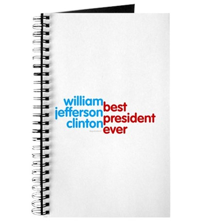 Best President Ever Journal