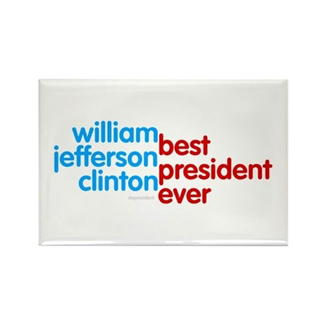 Best President Ever Rectangle Magnet (100 pack)