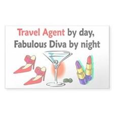 TRAVEL AGENT Decal