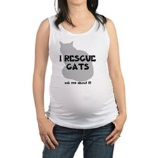 IRescuecats Maternity Tank Top