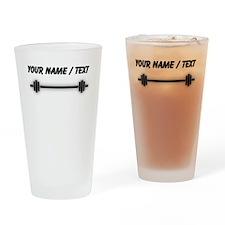 Custom Barbell Drinking Glass