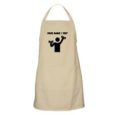 Custom Weightlifting Icon Apron