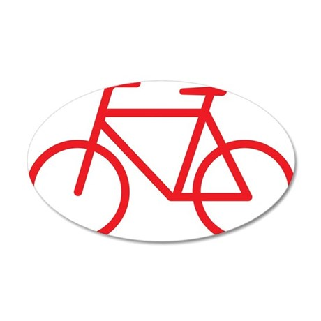 bikered 35x21 Oval Wall Decal