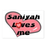 saniyah loves me  Postcards (Package of 8)