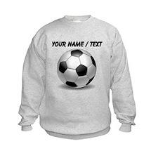 Custom Soccer Ball Sweatshirt
