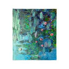 iPad Monet WL1914v2 Throw Blanket