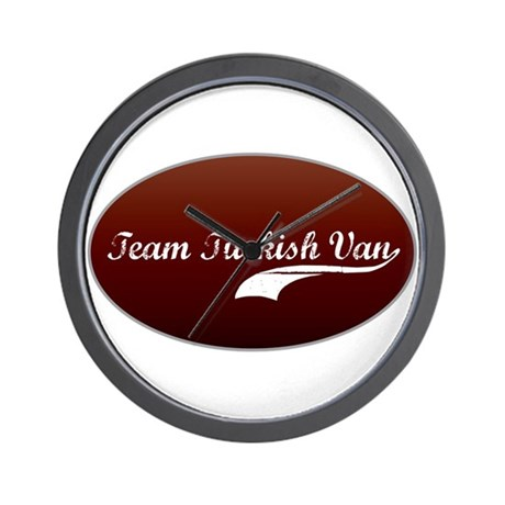 Team Van Wall Clock