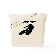 Custom Cycling Silhouette Tote Bag