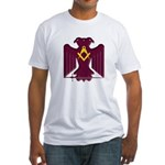 Scottish Rite Eagle Fitted T-Shirt